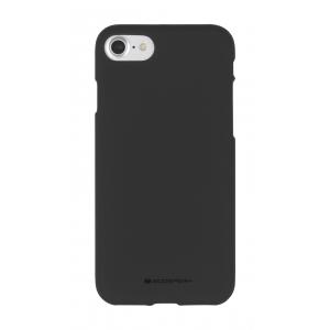 Dėklas Mercury Soft Jelly Case (Hole) Apple iPhone 7 Plus / 8 Plus juodas