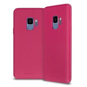 Dėklas Mercury Style Lux Samsung G973 S10 koralo spalvos