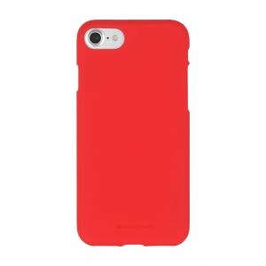 Dėklas Mercury Soft Jelly Case Samsung A750 A7 2018 raudonas
