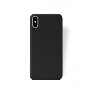 Dėklas Rubber TPU Samsung A530 A8 2018 juodas