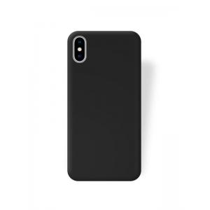 Dėklas Rubber TPU iPhone XS Max juodas