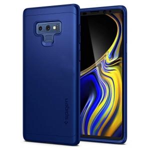 Dėklas Spigen TPU Case Huawei P30 tamsiai mėlynas