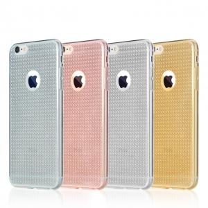Dėklas Select TPU grain Apple iPhone 6 / 6S skaidrus
