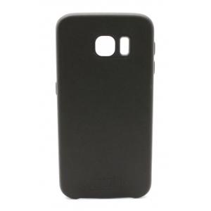 Dėklas Tellos Leather case Samsung G920 S6 juodas