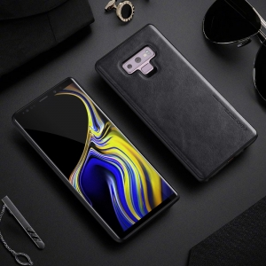 Dėklas X-Level Earl III Samsung A750 A7 2018 juodas