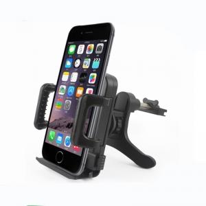Automobilinis Universalus telefono laikiklis CPH-09, tvirtinamas ant ventiliacijos grotelių, (4,5-9 cm)