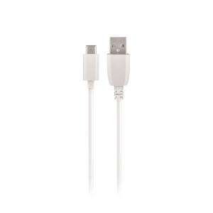 USB kabelis Maxlife Type-C baltas, 1A, 1.0m
