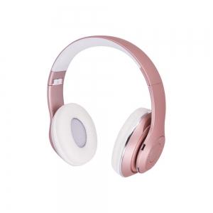 Belaidė laisvų rankų įranga Forever Music Soul BHS-300 rožinė
