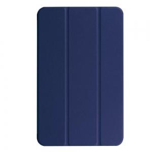 Dėklas Smart Leather Huawei MediaPad M5 Lite 10.0 tamsiai mėlynas