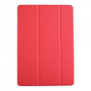 Dėklas Smart Leather Samsung T860 / T865 Tab S6 10.5 raudonas