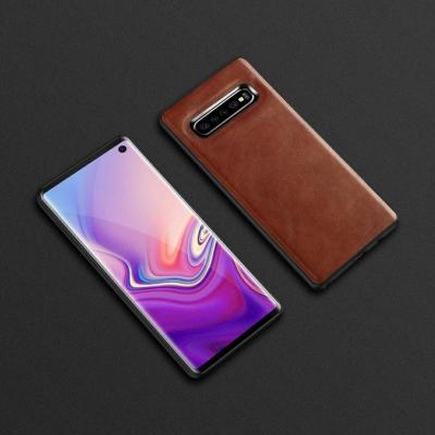 Dėklas Business Case juodas Huawei P Smart Z rudas
