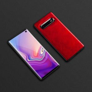 Dėklas Business Case juodas Huawei P Smart Z raudonas