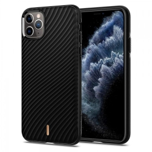 Dėklas Spigen Ciel Wave Shell Apple iPhone 11 Pro juodas