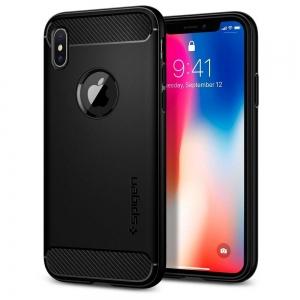 Dėklas Spigen Rugged Armor Apple iPhone 11 Pro juodas