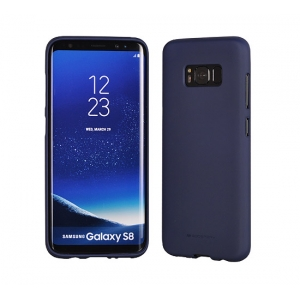 Dėklas Mercury Soft Jelly Case Samsung A705 A70 tamsiai mėlynas