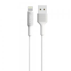 USB kabelis Borofone BX1 Lightning 1.0m baltas