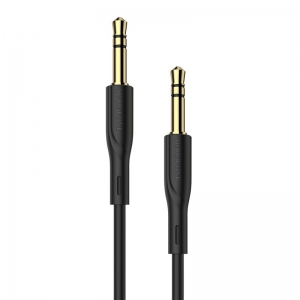 Audio adapteris 3,5mm į 3,5mm Borofone BL1 juodas