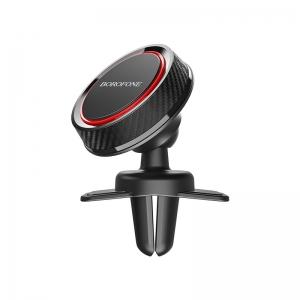 Automobilinis Universalus telefono laikiklis Borofone BH12, tvirtinamas ant ventiliacijos grotelių, magnetinis