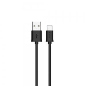 USB kabelis Devia Smart Type-C 1.0m juodas