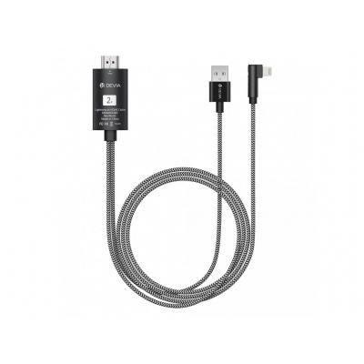 Adapteris Devia Storm Lightning-HDMI juodas