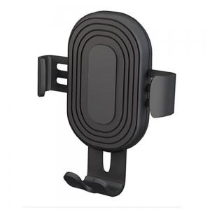 Automobilinis Universalus telefono laikiklis Devia Gravity tvirtinamas į ventiliacijos groteles, juodas