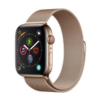 Apyrankė Devia Elegant Milanese 40mm Apple Watch aukso spalvos