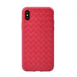 Dėklas Devia Yison Apple iPhone X / XS raudonas