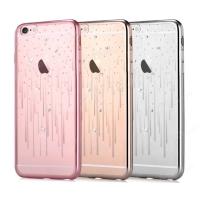 Dėklas Devia Meteor Crystal Apple iPhone X / XS sidabrinės spalvos