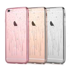 Dėklas Devia Meteor Crystal Apple iPhone X / XS rožinis-auksinis