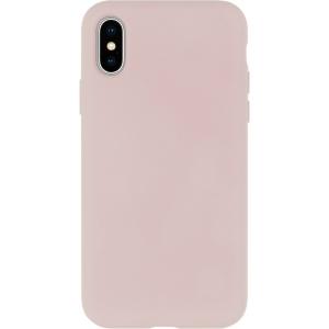 Dėklas Mercury Silicone Case Apple iPhone X / XS rožinio smėlio