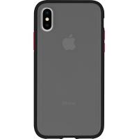 Dėklas Mercury Peach Garden Bumper Apple iPhone 11 Pro Max juodas-raudonas