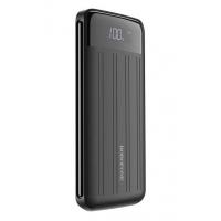 Išorinė baterija Power Bank Borofone BT21A su LCD ekranu 20000mAh juoda