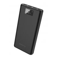 Išorinė baterija Power Bank Borofone BT2D su LCD ekranu 3xUSB 30000mAh juoda
