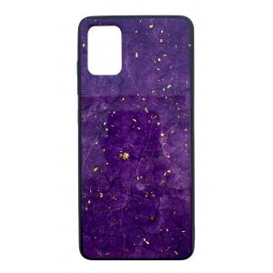 Dėklas Marble Samsung G986 S20 Plus / S11 violetinis