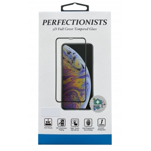 LCD apsauginis stikliukas 5D Perfectionists Apple iPhone 7 / 8 / SE2 lenktas juodas