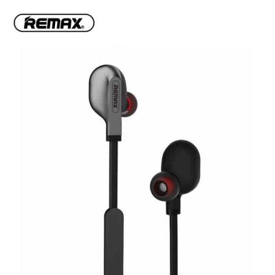 Belaidė laisvų rankų įranga Remax RB-S18 Bluetooth juoda
