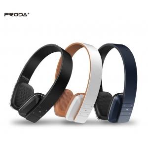 Belaidė laisvų rankų įranga Proda PD-BH300 Bluetooth balta