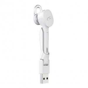 Belaidė laisvų rankų įranga Remax RB-T27 Bluetooth balta