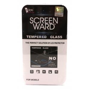 LCD apsauginis stikliukas Adpo 3D pritaikytas dėklui Samsung G985 S20 Plus lenktas juodas
