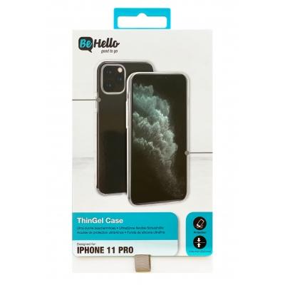 Dėklas BeHello ThinGel Apple iPhone X / XS juodas
