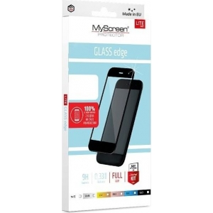 LCD apsauginis stikliukas MyScreen Lite Edge Full Glue Huawei P30 Lite juodas