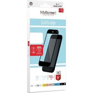 LCD apsauginis stikliukas MyScreen Lite Edge Full Glue Samsung N770 Note 10 Lite / A81 juodas
