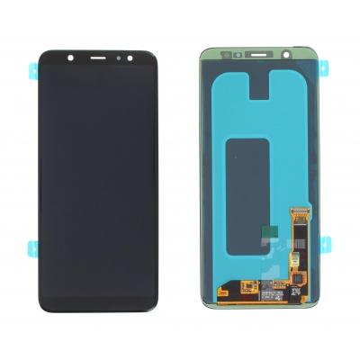 Ekranas Samsung A307 A30s su lietimui jautriu stikliuku juodas originalus (service pack)