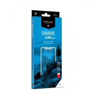 LCD apsauginis stikliukas MyScreen Diamond Edge 3D Apple iPhone 7 / 8 / SE2 juodas