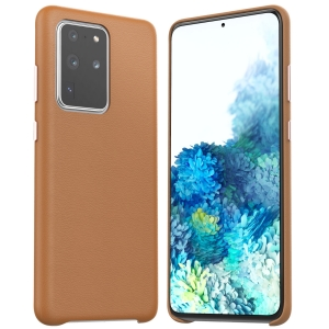 Dėklas Araree Pellis Samsung G985 S20 Plus rudas