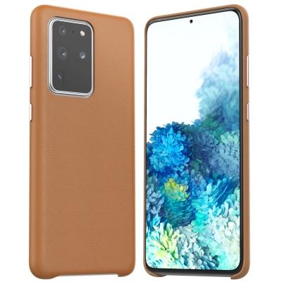 Dėklas Araree Pellis Samsung G986 S20 Plus rudas