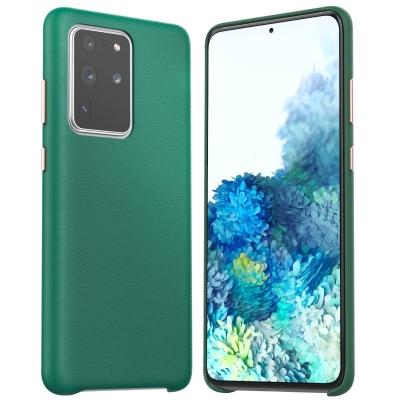 Dėklas Araree Pellis Samsung G985 S20 Plus žalias