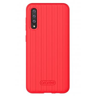 Dėklas Araree Airdome Samsung A505 A50 / A507 A50s raudonas