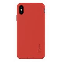 Dėklas Araree A-Fit Apple iPhone XS Max raudonas