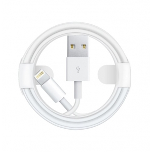 USB kabelis ORG Apple iPhone 7 MD818 (with 8-IC chip) Lightning 1.0m